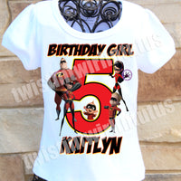 Incredibles Birthday Shirt