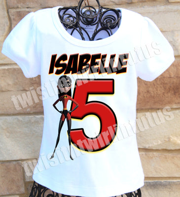 Incredibles Violet Birthday Shirt