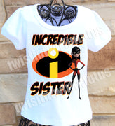 Incredibles Sister Shirt