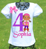 Izzy birthday shirt