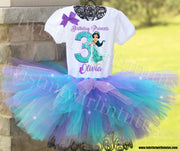 Princess Jasmine Birthday Tutu Outfit