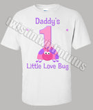 Ladybug Dad Birthday Shirt