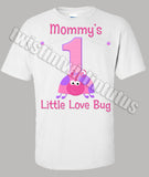 Ladybug Mom Birthday Shirt