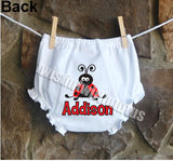 Ladybug Bloomers Diaper Cover