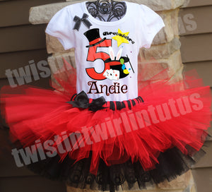 Magician Birthday Tutu Outfit