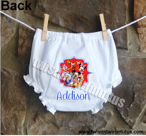 Mickey Mouse Clubhouse Bloomers Diaper Cover