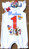 Mickey Mouse Clubhouse Birthday Romper