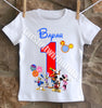 Mickey Mouse Clubhouse Birthday Shirt