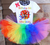 Mickey Mouse Clubhouse birthday outfit