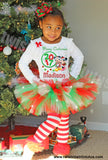 Mickey and Minnie Christmas Tutu Outfit