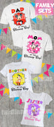 Mickey Mouse Clubhouse family shirt set
