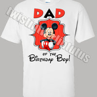 Mickey Mouse Clubhouse  dad shirt