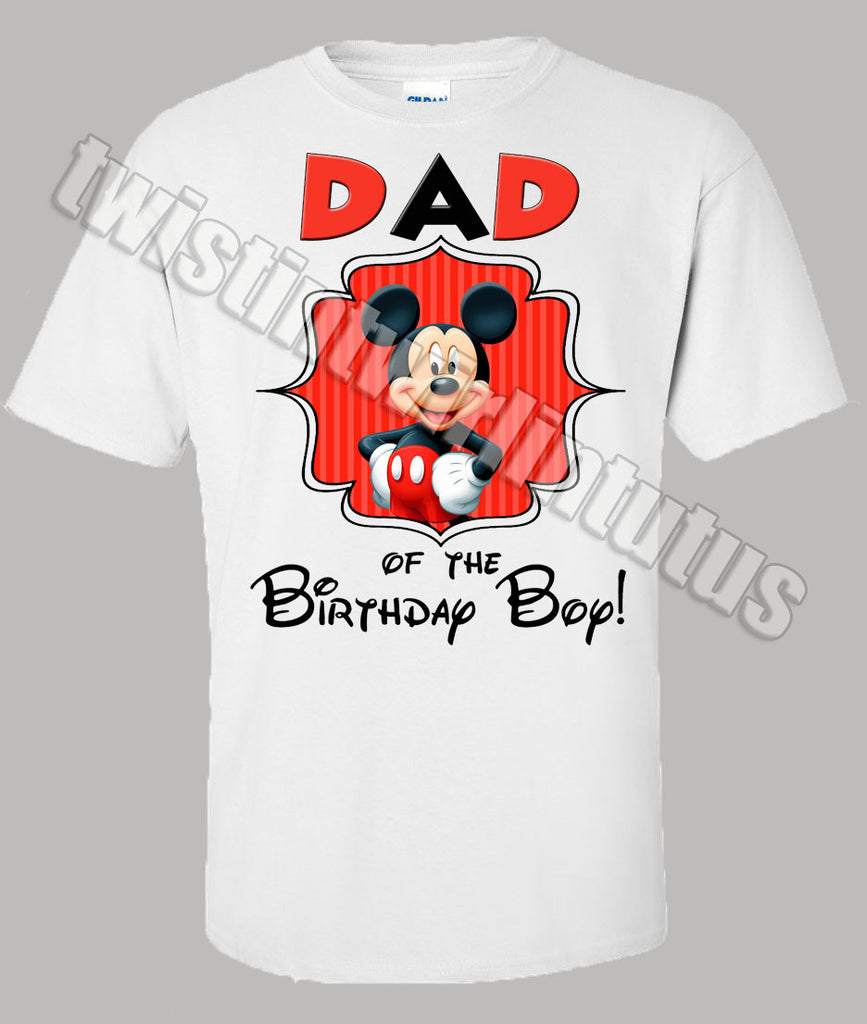 Mickey Mouse Clubhouse Family Birthday Shirts
