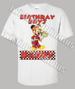 Mickey and the Roadster Racers Dad Shirt