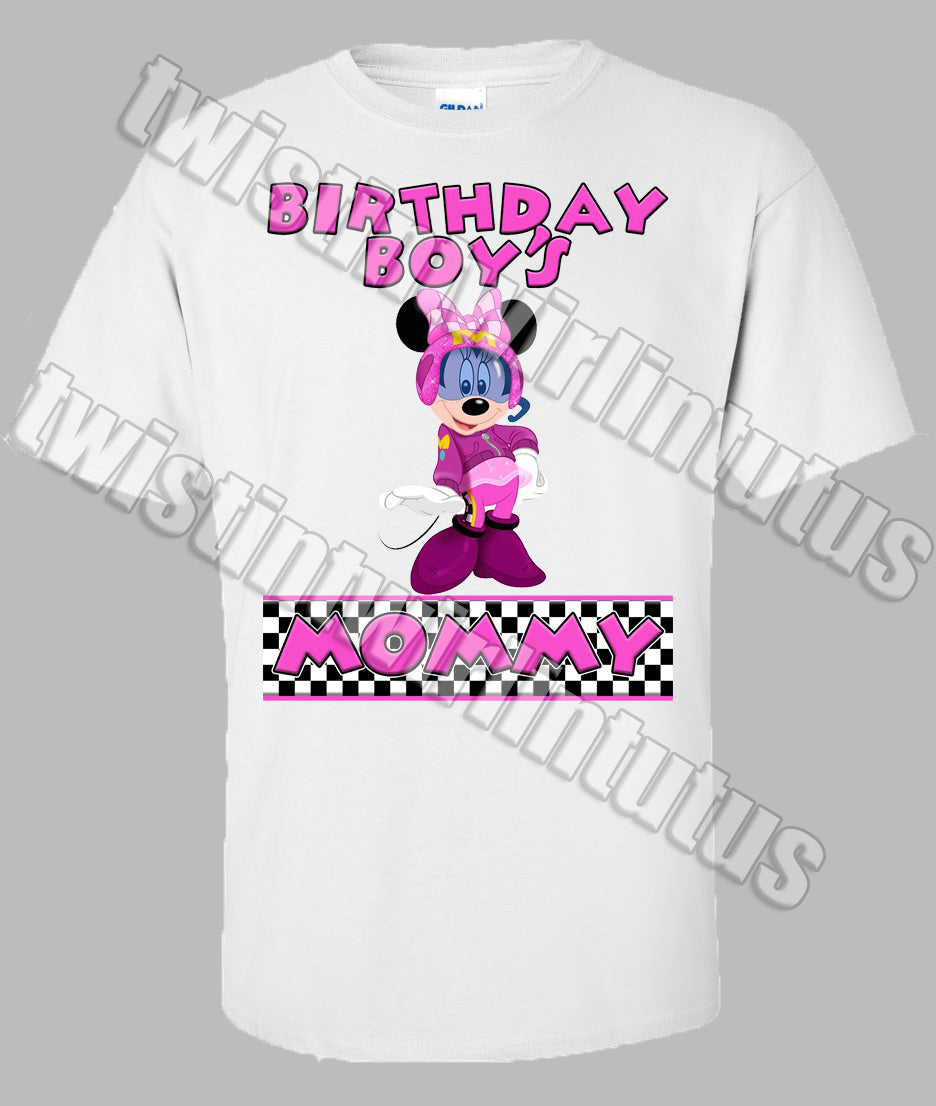 Mickey and the Roadster Racers Mom Shirt