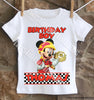Mickey and the Roadster Racers Birthday Shirt
