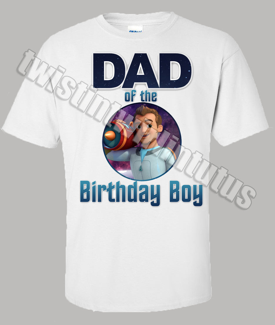 Miles From Tomorrowland Dad Shirt