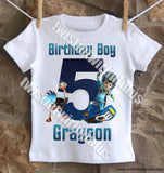Miles from Tomorrowland Birthday Shirt
