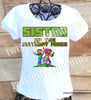 Girls Minecraft Sister Shirt
