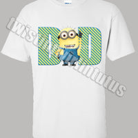 Adult Dad Minion Shirt
