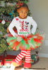 Girls Minnie First Christmas Tutu Outfit