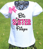 Minnie Mouse Big Sister Shirt
