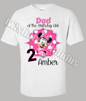 Minnie Mouse Dad Shirt
