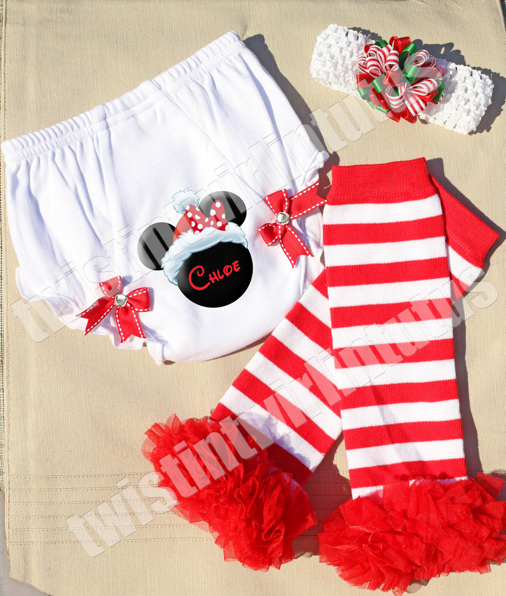 Minnie Christmas Outfit