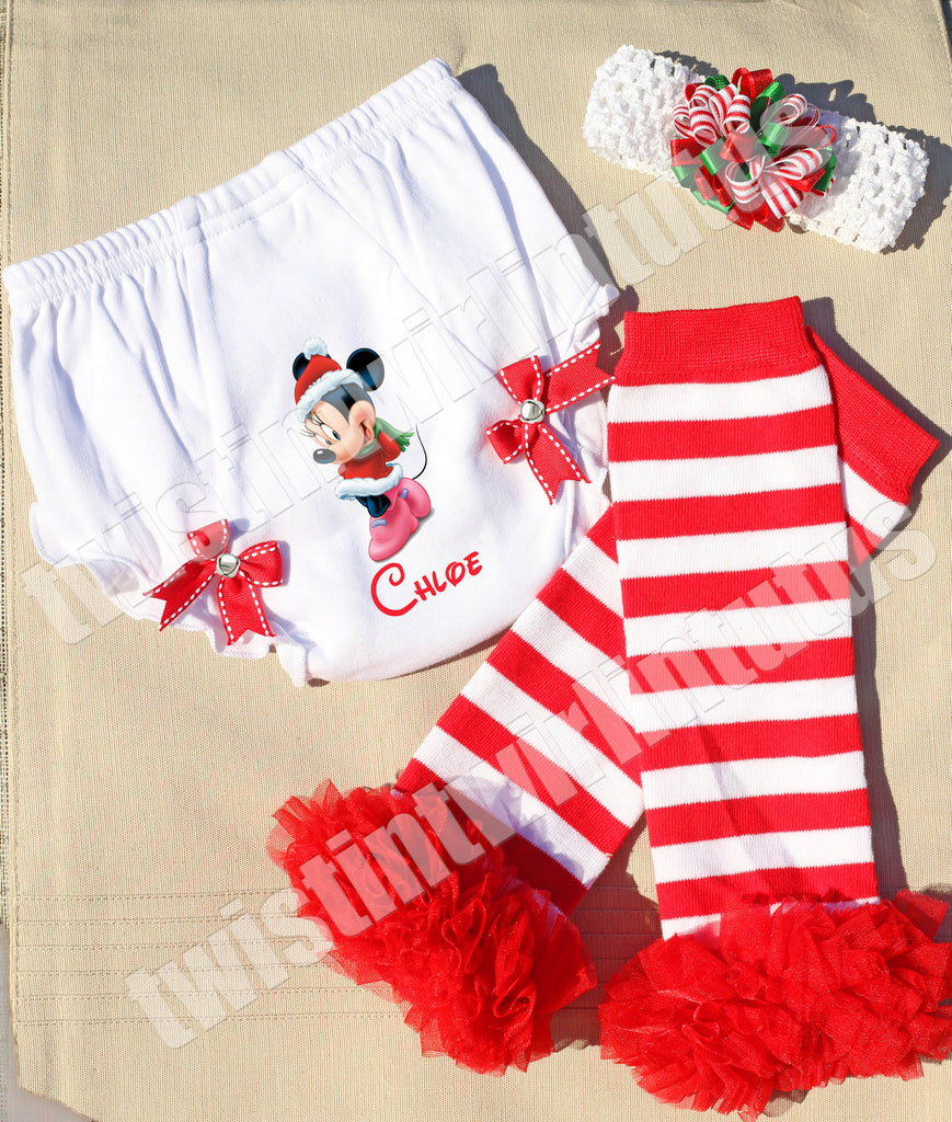Christmas Minnie Mouse Accessory Set