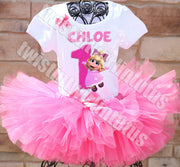 Miss Piggy Birthday Tutu Outfit