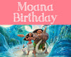 Moana Birthday