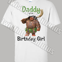 Moana Dad Shirt