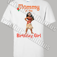 Moana Mom Shirt