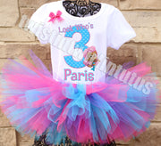 Bubble Guppies Molly Birthday Tutu Outfit