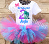 Monsters Inc Birthday Tutu Outfit