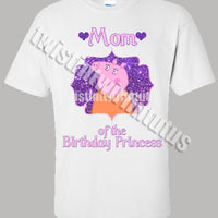 Mummy Pig Birthday Shirt