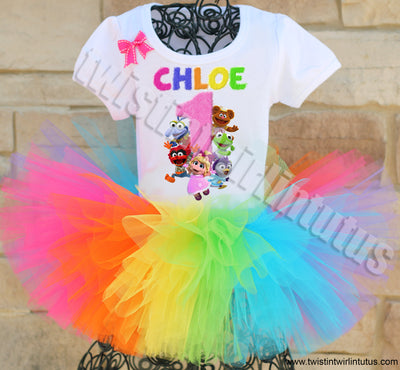 Muppet Babies Birthday Tutu Outfit