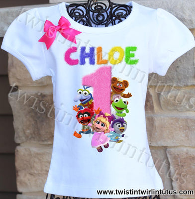 Muppet Babies Birthday shirt
