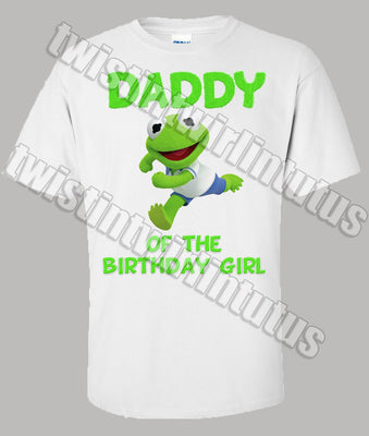 Muppet Babies Daddy Birthday Shirt