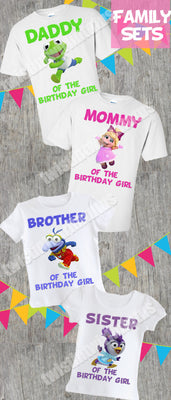Muppet Babies Family Birthday Shirts