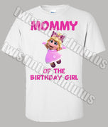 Muppet Babies Mommy Birthday Shirt