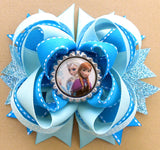 Frozen Elsa Hair Bow
