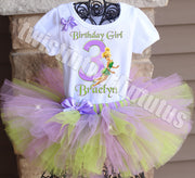 Tinkerbell Birthday Tutu Outfit