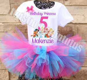 Disney Princess Palace Pets Birthday Tutu Outfit