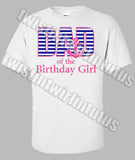 Nautical Birthday Dad shirt