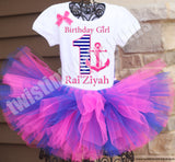 Nautical Birthday Tutu Outfit