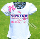 Nautical Birthday Sister Shirt