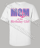 Nautical Birthday Mom Shirt
