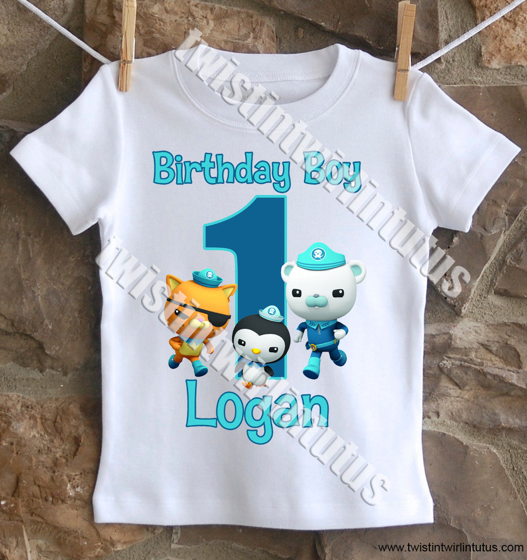 Octonauts Birthday Shirt