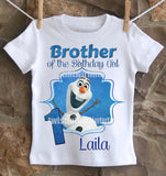 Frozen Olaf Brother Shirt